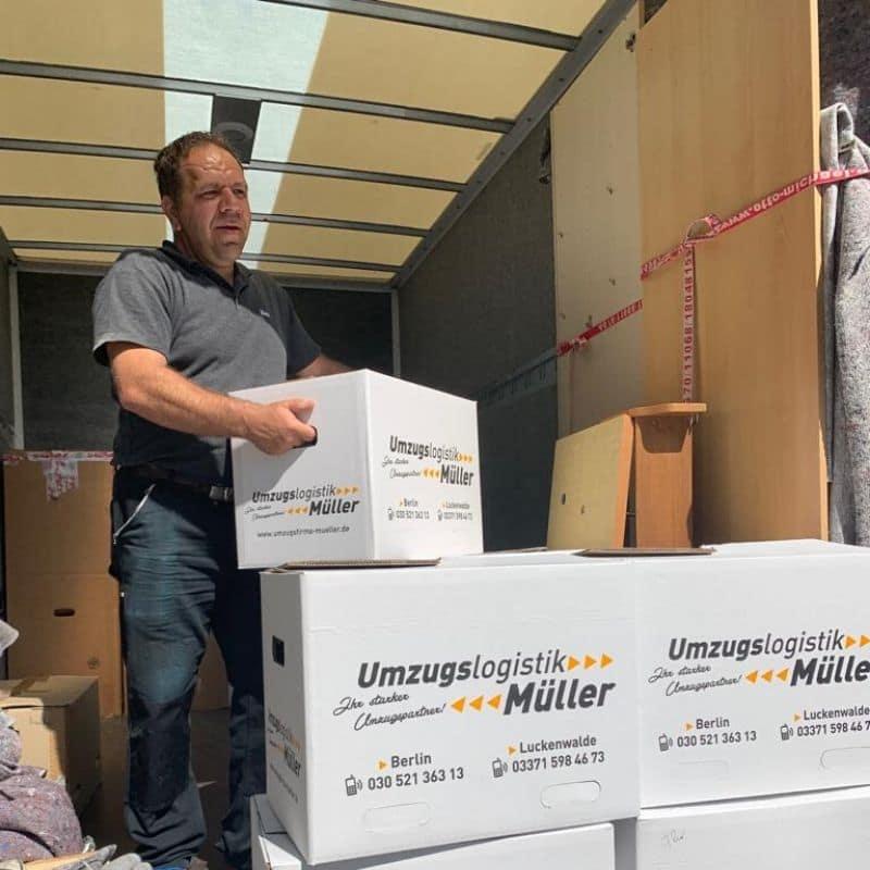 Umzugsunternehmen Müller in Rangsdorf